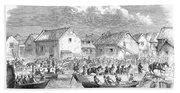 Second Opium War, 1860 Bath Towel