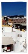 Views From Santorini Greece Bath Towel