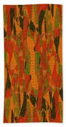 1114 Abstract Thought Bath Towel
