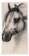 Arabian Horse Bath Towel