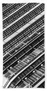 Canary Wharf London Abstract Bath Towel