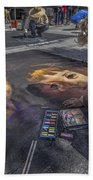 Lake Worth Street Painting Festival Bath Towel