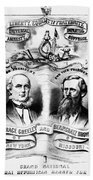 Presidential Campaign, 1872 Bath Towel