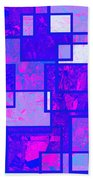 1216 Absract Thought Bath Towel