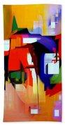 Abstract Series Iv Bath Towel