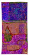 1381 Abstract Thought Bath Towel