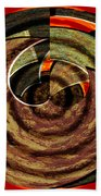 1396 Abstract Thought Bath Towel