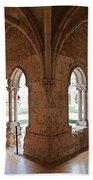13th Century Gothic Cloister Bath Towel