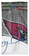 Arizona Cardinals Bath Towel by Joe Hamilton