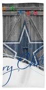 Dallas Cowboys Bath Towel by Joe Hamilton