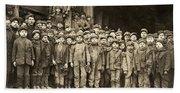Hine Child Labor, 1911 Bath Towel