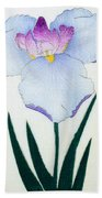 Japanese Flower Bath Towel