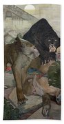 Jungle Book, 1903 Bath Towel