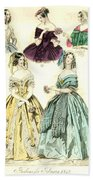 Women's Fashion, 1842 Bath Towel