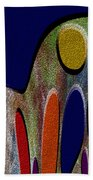 1404 Abstract Thought Bath Towel