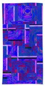 1527 Abstract Thought Bath Towel
