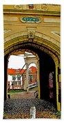 1540 Entrance To Enkhuizen-netherlands Bath Towel