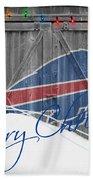 Buffalo Bills Bath Towel by Joe Hamilton