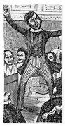 Davy Crockett (1786-1836) Bath Towel