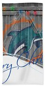 Miami Dolphins Bath Towel