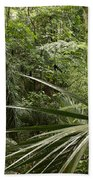 Jungle Leaves Bath Towel