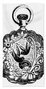 Pocket Watch, 19th Century Bath Towel