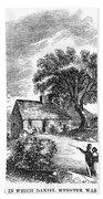 Daniel Webster (1782-1852) Hand Towel