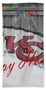 Kansas City Chiefs Bath Towel by Joe Hamilton