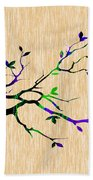 Tree Branch Collection Bath Towel