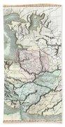 1801 Cary Map Of Persia  Iran Iraq Afghanistan Bath Towel