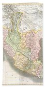 1814 Thomson Map Of Texas Mexico  Louisiana Bath Towel