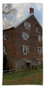 1823 North Carolina Grist Mill Bath Towel