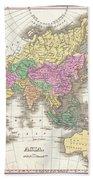 1827 Finley Map Of Asia And Australia Bath Towel