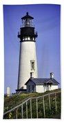 1872 Historic Lighthouse Bath Towel