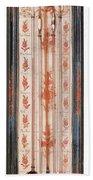 18th Century Thermometer-barometer Bath Towel
