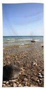 Lake Huron Bath Towel