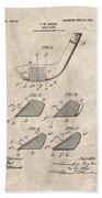 1903 Golf Club Patent Bath Towel