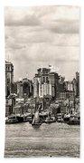1906 Manhattan Panorama Bath Towel