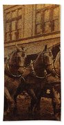 1908 Nickel-plated  Nott Steamer Fire Truck July 4th Parade East Congress Tucson Arizona 1909-2009 Hand Towel