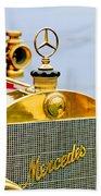 1911 Mercedes 50 Hp Maythorn Tourer Hood Ornament Bath Towel