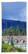 1916 Paradise Inn. Mount Rainier National Park Bath Towel