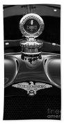 1921 Duesenberg Hood Ornament Bath Towel