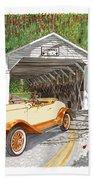 1929 Chrysler 65 Covered Bridge Bath Towel