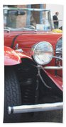 1929 Mercedes Benz Front And Side View Bath Towel