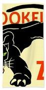 1930 - Brookfield Zoo Poster - Boston - Color Bath Towel