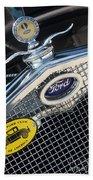 1930 Ford Model A - Radiator N Grill - 7479 Bath Towel