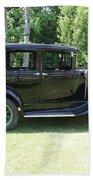 1930 Model-a Town Car 1 Bath Towel