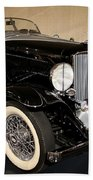 1932 Auburn Boattail Speedster Bath Towel