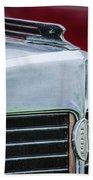 1932 Marmon Sixteen Lebaron Victoria Coupe Hood Ornament - Grille Emblem - 1904c Bath Towel