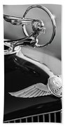 1933 Pontiac Hood Ornament 4 Bath Towel